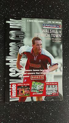 Walsall V Ipswich Town 2002-03