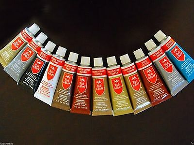 Rub n Buff Original Metallic Gilding Wax Permanent Wooden Frame Paste Cream