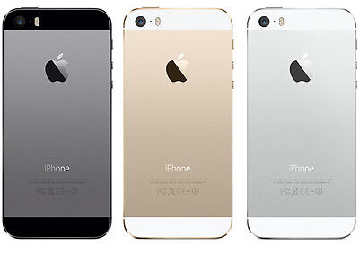 Apple iPhone 5s 32gb Unlocked Smartphone in Gold, Silver or Space Gray