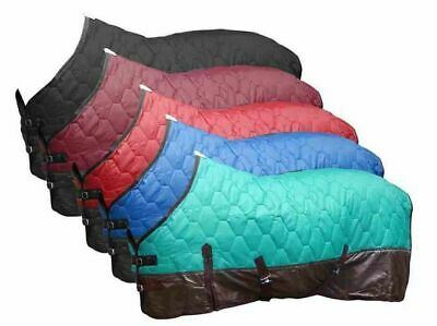 Showman 420 Denier Quilted Rip Stop Lined Nylon Horse Blanket