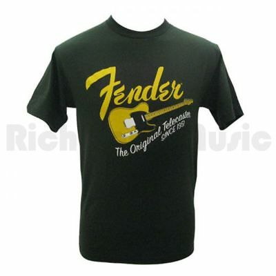Fender Original Tele T-Shirt - Green - L
