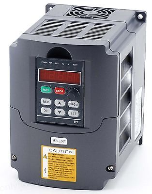 3HP Frequenzumrichter Variable Frequency Driver Inverter VFD 2,2KW  380V 3phase