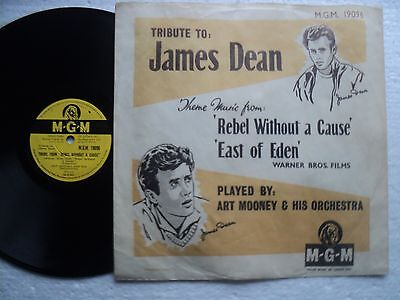 James Dean Tribute - Rare South Africa only 78 RPM P/ Sleeve  // near mint !