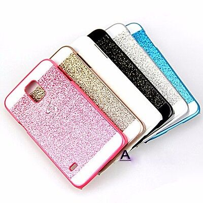 Luxury Bling  Hard Back Case Cover Skin For Samsung Galaxy S3/4/5 Note 4