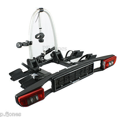 Westfalia Folding 2 / Two Bike Cycle Carrier Towbar Towball Mounted BC 70