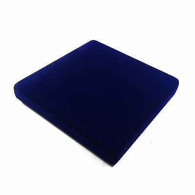 1 Blue Velvet Necklace Jewelry Display Packaging Gift Box LG