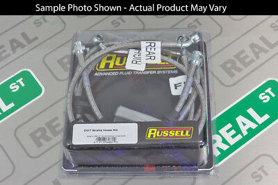 Russell Stainless Steel Brake Line Kit 350Z 03-06 G35 with Brembo Brakes 686920
