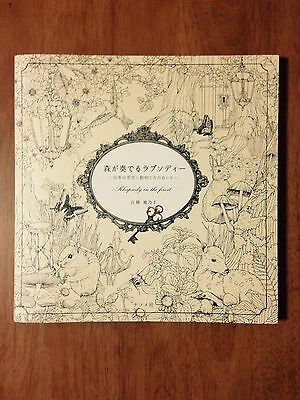 Coloring Book Rhapsody in The Forest