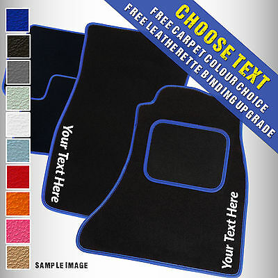 Alfa Romeo 145 / 146 (1994 to 2001) Tailored Carpet Car Mats + ADD TEXT [BL]