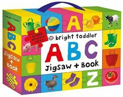 NEW Bright Toddler : ABC By Bright Toddler Book with Other Items Free Shipping