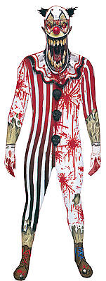 Halloween LifeSize MORPH JAW DROPPER ALIEN CLOWN ADULT MEN X-Large Costume