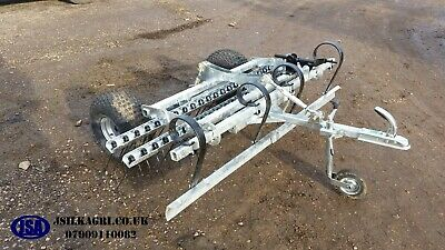 Galvinised ATV Spring Tine Harrow With Adjustable Leveling board. Grass menage