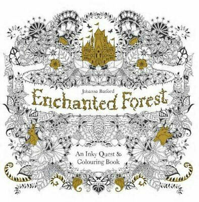 NEW Enchanted Forest By Johanna Basford Paperback Free Shipping