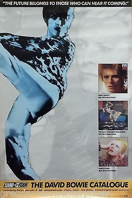 David Bowie 24x36 Catalogue Promo Poster Space Oddity