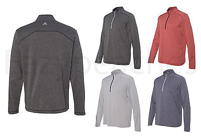 ADIDAS - Gradient Stripes Golf Jacket, Brushed Heather Pullover, Mens Size S-3XL