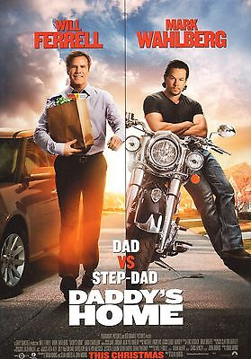 Daddy's Home Original 11x17 2015 Movie Poster Promo Will Ferrell Mark Wahlberg