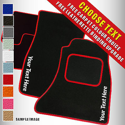 Mazda 2 (2015 + ) Tailored Carpet Car Mats + ADD TEXT [R]