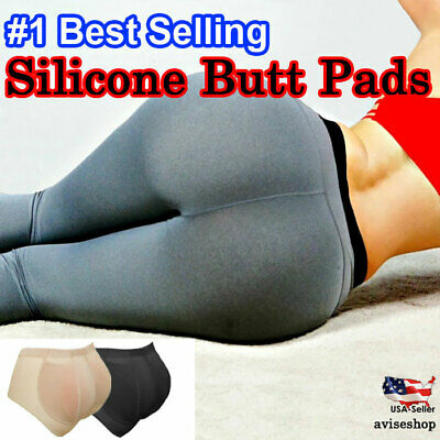 Silicone Butt Pads Buttock Panty Enhancer body Shaper Brief Hip up Implant GD