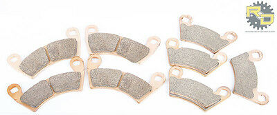 2013-2017 Polaris Ranger XP 900 Front and Rear Severe Duty Brake Pads