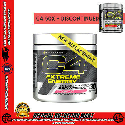 Cellucor C4 50X Gen 4 Strong Pre Workout