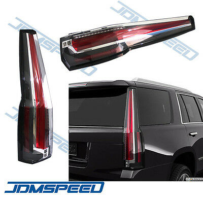 For 2015 2016 Chevrolet Tahoe/Suburban Tail Lights LED Brake Cadillac Style