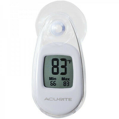 Acurite Digital Window Thermometer with High / Low Temperature Memory