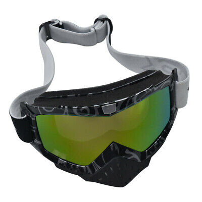 Anti-fog UV Protection Motorbike MX Racing Goggles Quad Dirt Trail Bike Skiing