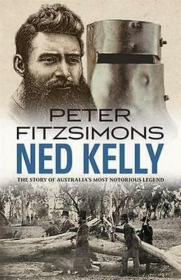 NEW Ned Kelly By Peter FitzSimons Paperback Free Shipping