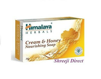 Himalaya Herbals Cream & Honey Nourishing Soap - 75g Genuine Himalaya Product