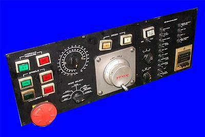 Fanuc Front User Panel Operator Interface W/ A860-0201-T002 Pulse Generator