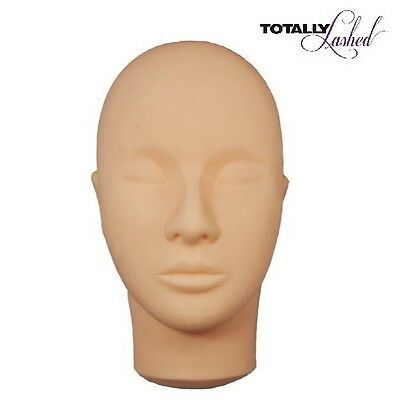 TOTALLY Lashed - MANNEQUIN Training Head - Eyelash Extension Practice Tool