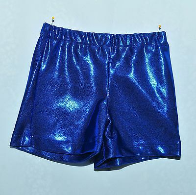 Mystique Royal  Dance Gymnastics Shorts Size Small Toddler, Pageant