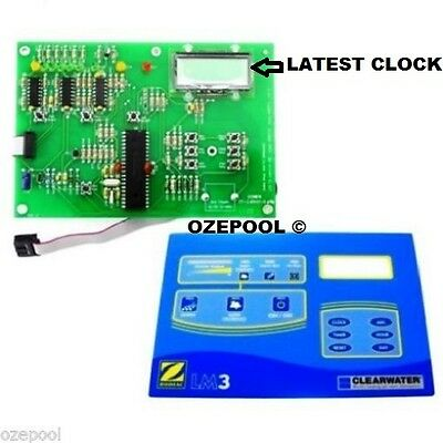 LM2/3 PCB with CLOCK plus nicer LM3 TOP LABEL, Genuine Zodiac, package deal