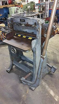 Chandler And Price Co Craftsman Guillotine Paper Cutter