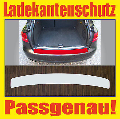 Boot edge protection clear for Audi A4 B8 Avant ab 08