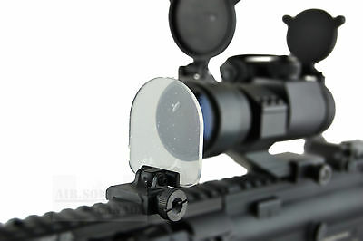 Airsoft Sight Lens Protector (Weaver mount) - TRACKING # Included!