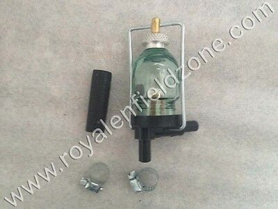 Brand New Royal Enfield Special Glass Bowl Fuel Filter -1