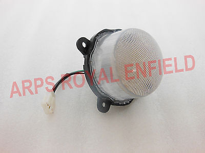 New Customized Royal Enfield C5  Classic Star Led Tail Light With White Glass