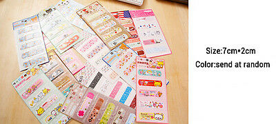 Kids' Cute Cartoon Adhesive Band Aid Bandages Plasters Decal Sticker 20pcs/set
