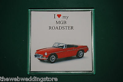 MGB Roadster - Drink mat - Coaster - Gift - Fathers day - Retro Gift - FUN ITEM