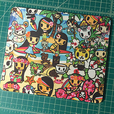 TOKIDOKI Dolcezza Hawaii MOUSEPAD MOUSE PAD Donutella Palette Kawaii custom rare
