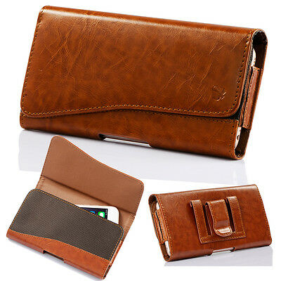 Leather Holster Belt Clip Carrying Case Pouch For Samsung Galaxy S8/S8 Plus NEW