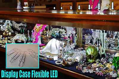 Showcase & Display Case LED Lighting --- SUPER Efficient --- NO Heat - 5ft KIT