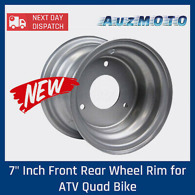 "7"" Inch Front Rear Wheel Rim for ATV Quad Bike Dune Buggy Ride on Mowers Go Kart"
