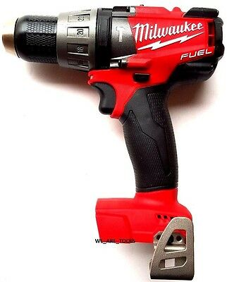 "New Milwaukee FUEL 2704-20 18V 1/2"" Cordless Brushless Hammer Drill M18"