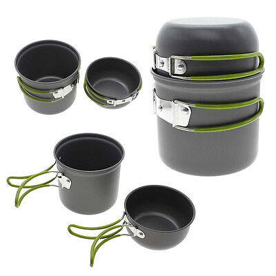 Durable Outdoor Cooking Picnic Bowl Pot Pan Outdoor BBQ Camping Equipment