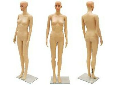 Plastic Female Mannequin Manikin Manequin Display Dress Form #PS-G7