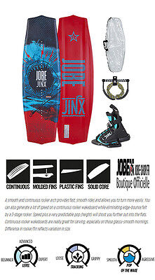 Wakeboard junior Jinx Package 128 + chausses + palonnier + housse - Jobe 2016