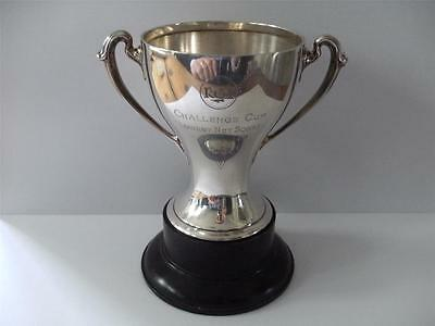 FINE SOLID SILVER TROPHY CUP Sheffield 1925