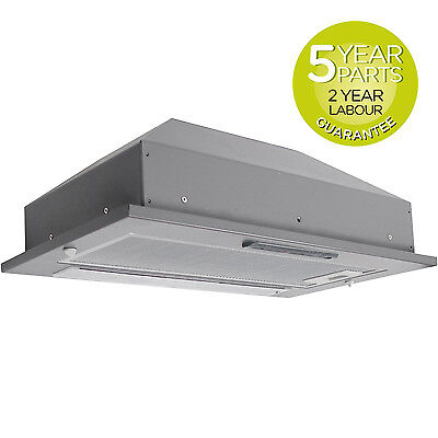 MyAppliances REF11303 50cm Grey Integrated Canopy Hood